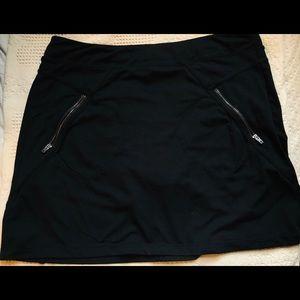 Athleta Skort. Zipper Pockets Front and Back